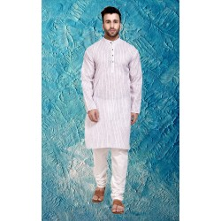 Men Kurta and Churidar Set_883