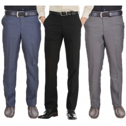 Regular Fit Men's pack of 3 gd black blue grey