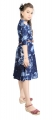 AD & AV Girls FROCK BLUE DENIM
