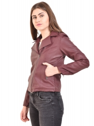 Full Sleeve Solid Women Jacket