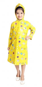 KIDS RAINCOAT  YELLOW
