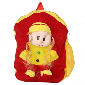 AD & AV 125_TEDDY_DOLL_BAG Plush Bag  (Multicolor, 10 L)