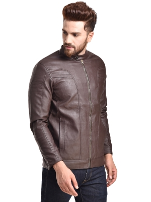 Full Sleeve Solid Men Jacket