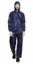 JPS  BLUE RAINCOAT