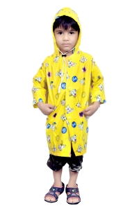 kids yellow RAINCOAT
